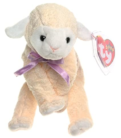 29d617aafc4 Image Unavailable. Image not available for. Color  TY Beanie Baby - FLEECIE  the Lamb  Toy