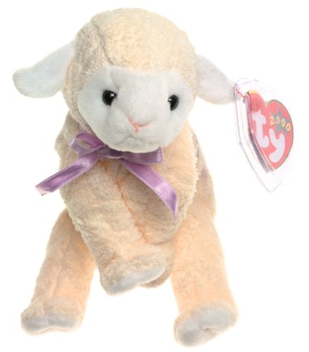 (TY Beanie Baby - FLEECIE the Lamb)