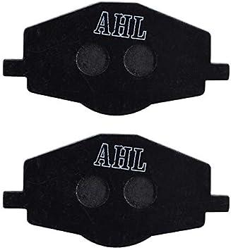 Color : Black Motocicletas Partes Delanteras Pastillas de Freno//Ajuste for Yamaha XT350 XT225 XT 350 225 YTZ250 YBR125 YTZ XTZ660E 660E Motor Freno de Disco