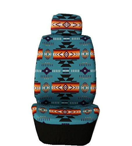 Nu Trendz Southwest Design/Navajo Print Car Seat Cover Set - Car Print Seat