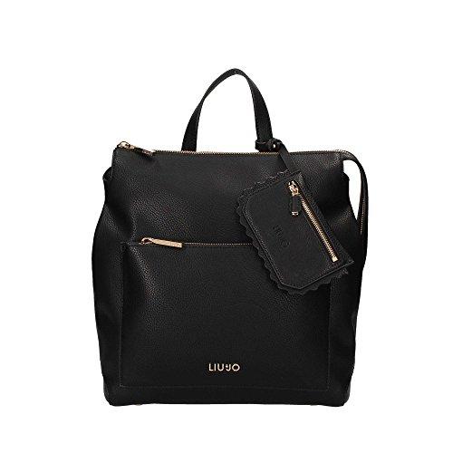 De Italia Liu Jo Jeans LIU JO DETROIT BACKPACK BAG A18006E0027 Nero El Envío Libre De Elegir Un Mejor Venta Mejores Precios bUPdjOT
