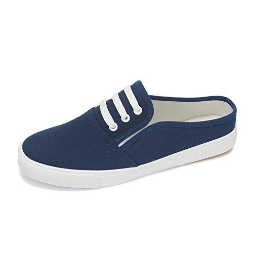 Silvestre para ayudar a los zapatos de lona bajos/zapatos casuales/ Sandalias y zapatillas transpirable mitad/Zapatos de la Junta D