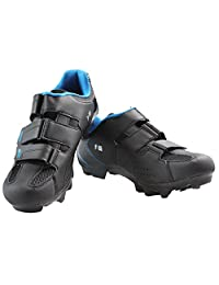 Hot genuine process comfortable and breathable black shoes F-55 lock mountain cycling shoes