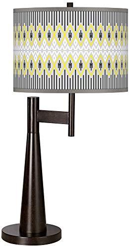 Desert Geometric Giclee Novo Table Lamp - Giclee Glow