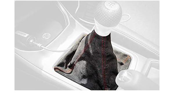 Amazon.com: RedlineGoods (5 marchas bota/funda para palanca de cambios Compatible con Subaru XV/Crosstrek 2012-17. Cuero GRIS Costura Negra: Automotive
