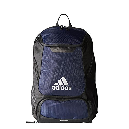 Navy Blue Team Ball (adidas Stadium Team Backpack, Collegiate Navy, One Size)