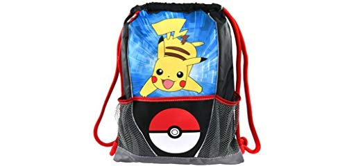 UPD Pokemon Pikachu Pokeball Multi Purpose Sling Bag, Multicolor ()
