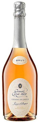 Aimery Sieur d Arques Crémant de Limoux Rosé Brut Grande Cuvée 1531 Méthode Traditionelle, 3er Pack (3 x 750 ml)