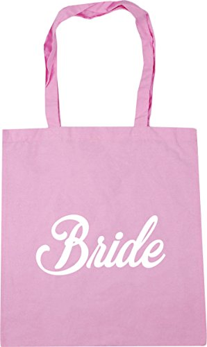 litres Tote HippoWarehouse Pink Bag Gym Bride x38cm Classic Beach Shopping 10 42cm Rzqwz
