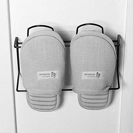 CHLCH Zapatilla de baño Rack Baño Sencilla Puerta Colgante de ...