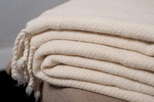 Throw Blanket/Merino /59' x 79' (150 cm x 200 cm)