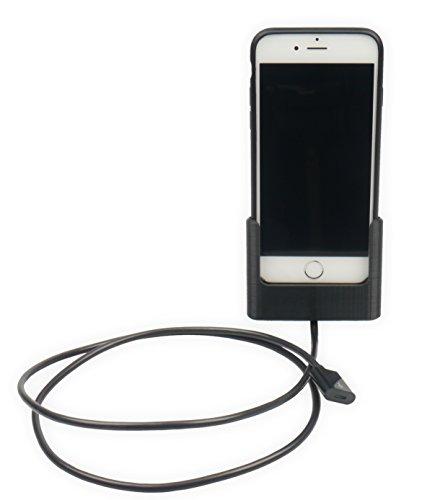 Auto Dock supporto per Apple iPhone 6/iPhone 6S con Apple iPhone Case con cavo Lightning (individualmente originale 3d stampata)