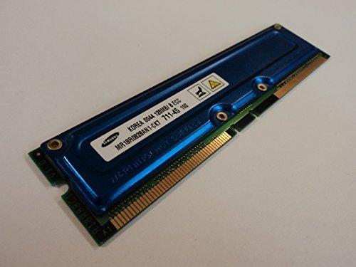 Rdram Rimm Memory Module - Samsung RAM Memory Module 128MB PC700 RDRAM RIMM 184-Pin RAMBUS MR18R0828AN1-CK7