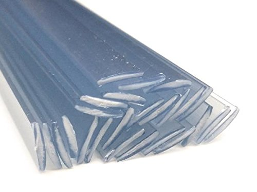 Alambre de soldadura de pl/ástico PVC-U duro 8x1mm Plano Transparente 25 barra