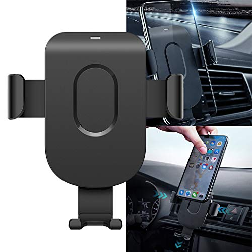 Price comparison product image Car Wireless Magnetic Charger Induction for Samsung Huawei Gravity Venting Car Wireless Magnet Air Vent Holder Charger Dock Charging Holder Station / 4.0-6.5 inches