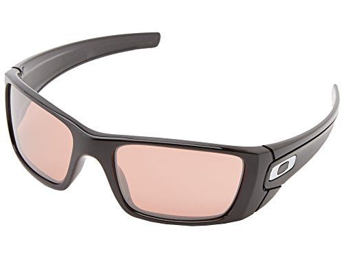 Oakley Fuel Cell Non-Polarized Iridium Rectangular Sunglasses,Polished Black,60 mm