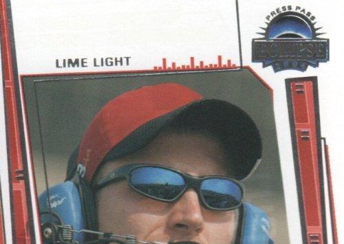(2004 Press Pass Eclipse NASCAR Racing #73 Dale Earnhardt Jr. Lime Light)