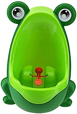 Perfect Mommys Helper for Potty Training Froggy Baby Urinal Sky Blue