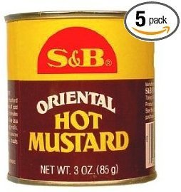 S&B - Hot Mustard Powder 3.0 Oz. (Pack of 5)
