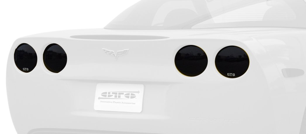 GT Styling 950142 Smoke Tail Light Cover