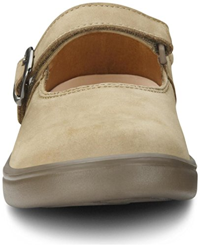 Dr. Comfort Merry Jane Women's Therapeutic Extra Depth Shoe: Beige 7 X-Wide (E-2E) Velcro by Dr. Comfort (Image #6)
