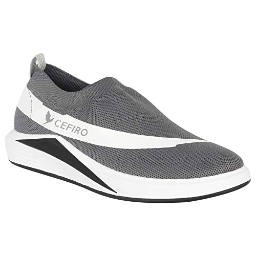 Buy Cefiro Woods Grey Casual Shoes or