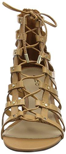 Cinturino Sandali Donna Caviglia Aldo Brown Myssi con alla Camel B4U7qU