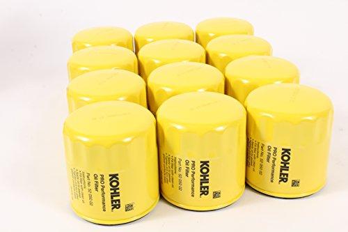 KOHLER 52 050 02-S Engine Oil Filter Extra Capacity For CH11 - CH15, CV11 - CV22, M18 - M20, MV16 - MV20 And K582- 12 pack
