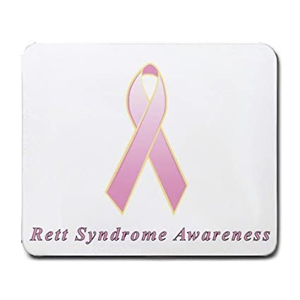 amazon com rett syndrome awareness ribbon mouse pad office products
