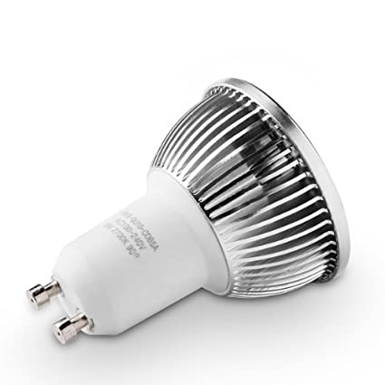 500 lumens 2700K Warm White CRI 80+ 90/Â/° Beam Spread 2.4 Length GOOLSUN 5-watt GU10 LED COB Flood Bulb Dimmable AC 120V 50-watt Equivalent