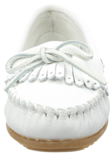 t White White Deerskin Women's Minnetonka Soft Mocassins XqYtBwA