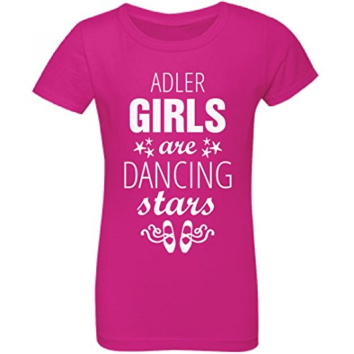 Price comparison product image Adler Girls Are Dancing Stars: Youth Girls Princess T-Shirt