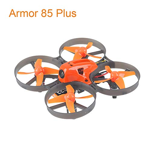 Makerfire Armor 85 Plus Micro FPV Racing Drone 85mm Whoop Quadcopter 8.5x20mm 8520 Brushed Motor with XM Frsky Receiver BNF