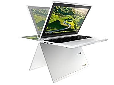 "2018 Newest Acer R11 11.6"" Convertible 2-in-1 HD IPS Touchscreen Chromebook - Intel Quad-Core Celeron N3150 1.6GHz, 4GB RAM, 32GB SSD, 802.11AC, Bluetooth, HD Webcam, HDMI, USB 3.0, 10-Hour Battery"