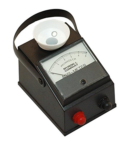 Myron L AG6/PH Agri-Meter, 0-5 millimhos, 2-12 pH by Myron L