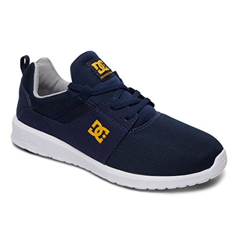 Heathrow Uomo M DC Shoes Gold Navy Sneakers Bleu gRqF6FwC