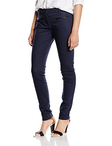 Tommy Hilfiger Marta Pant, Pantalones para Mujer Azul (NIGHT SKY 421)