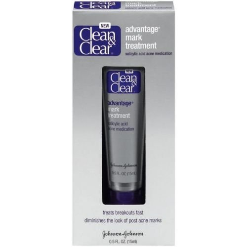 Clean and Clear Advantage Acne and Mark Sport Treatment, 0.5 Ounce - 24 per case.