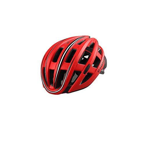Cycket 252g Ultra peso ligero - con las luces traseras Casco de la bici, casco de ciclo ajustable del deporte Cascos de la...
