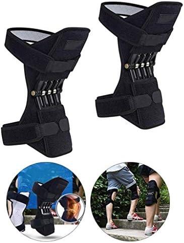 Knie-Booster for Männer, Joint Support Knieschützer, Knie Patella Strap, Power Lift Federkraft, Tendon Brace Band...