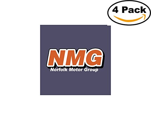 Nmg 4 Stickers 4X4 inches Car Bumper Window Sticker Decal from CanvasByLam