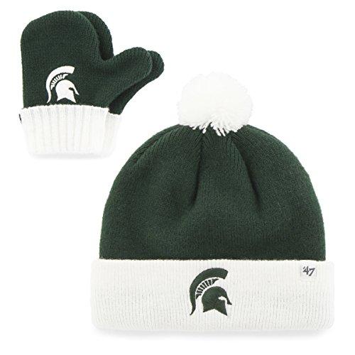 '47 NCAA Michigan State Spartans Toddler Bam Knit Beanie & M