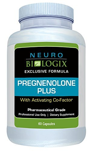 (Neurobiologix Pregnenolone Plus with Activating Co-Factor Vitamin B3 (40 mg, 60 Capsules) by NeuroBiologix )