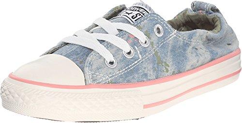 Green Sage Converse - Converse Kids' Chuck Taylor All Star Shoreline Sneaker (2.5 M US Little Kid, Daybreak Pink/Pistachio Green/Street Sage)