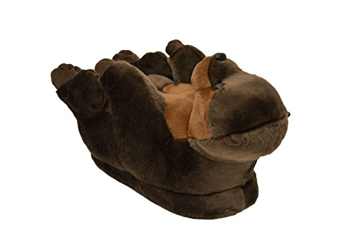 9093-1 - Otter - Small - Happy Feet Animal Slippers