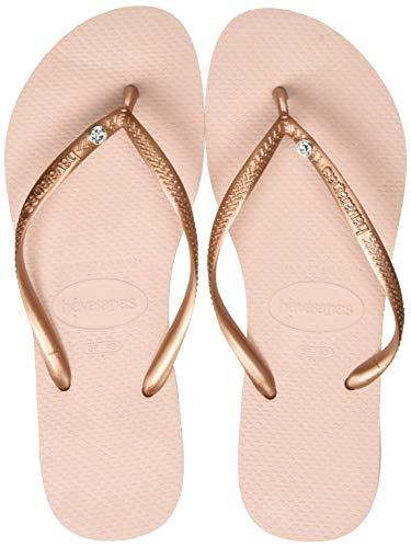 Havaianas Women's Slim Crystal Glamour Flip Flops