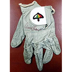 Arnold Palmer Autographed Tournament Used Golf Glove Vintage Signature With Envelope From Palmer #AB08853 PSA/DNA Certified