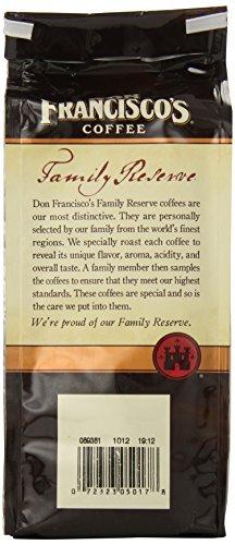 Don Francisco's Kona Blend, 12oz Ground Coffee Bag Family Reserve