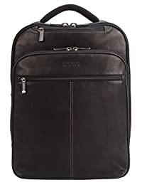 Kenneth Cole Slim Double Gusset EZ-Scan 16-Inch Computer Backpack, Brown, United States Carry-On