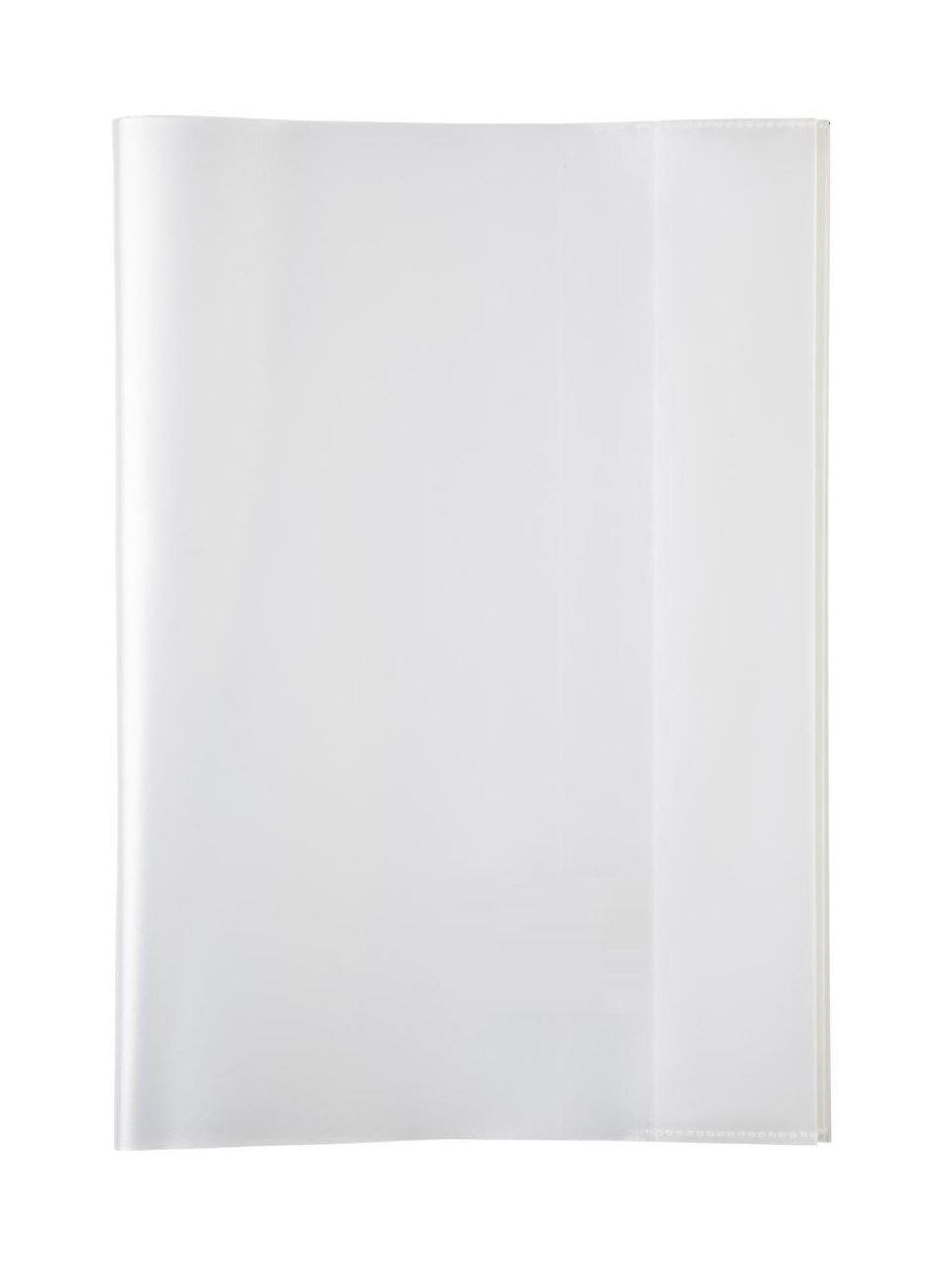 LANDRE 100420093 Heft-Hüllen 25 Stück DIN A5 rot-transparent, Heft-Umschlag flexibel & abwischbar, Buch-Schoner mit Einband, Schutz-Hülle für Arbeits- & Schulhefte Hamelin GmbH